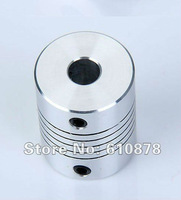 Safe Shipping, Aluminium CNC Stepper Motor Flexible Shaft Coupler,Inner Diameter: 3*3mm, L*D=25*18mm