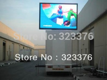 P10 full color outdoor truck mobile led display screen