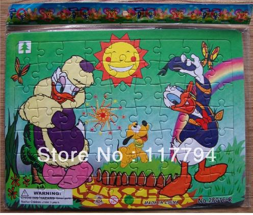 Customer Design Children develop intellectual powers Paper Jigsaw Puzzle Printing(China (Mainland))