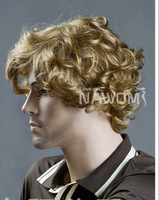 Free shipping, straight hair, 2012 new   male  wig, fashionable  wig