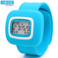 Fashion 9 Colors Wrist Sports Watch Jelly Watch Waterproof Silicon Quartz Watches Free Shippng