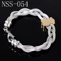 A Golden Bear mesh bracelet