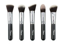 2013 FREE SHIPPING 5 pcs different style Advanced Artificial Fiber Makeup brushes