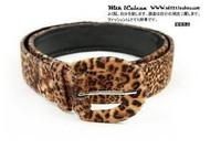 Free Shipping Fashion Magazine Recommend Sexy Leopard Print Velvet strap belt  Waistband, 3pcs/Lot S13