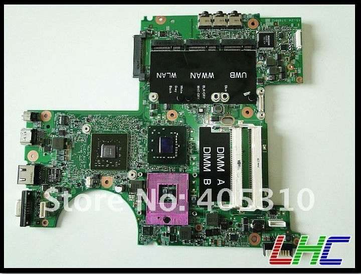 laptop motherboard components For Dell XPS M1530 Laptop Motherboard intel independent graphic card(China (Mainland))