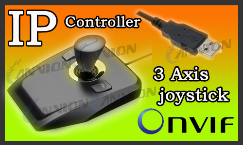CCTV Keyboard Controller 3 Axis joystick control IP network camera USB connector free shipping(China (Mainland))