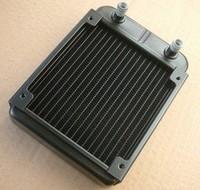 Free shipping,Black Aluminum Heat Exchanger Radiator CPU CO2 Laser 18 pipe