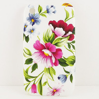 Peony Flower TPU GEL Silicone Back Case Cover Skin  Coating For Apple IPHONE 3G 3GS