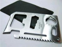 Pocket Survival Tool 11 Function Card Knife Outdoor Survival Multifunction knife (KH-14)