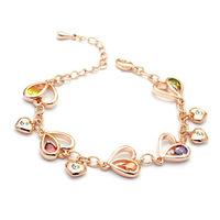 ITALINA female accessories love luxury zircon bracelet