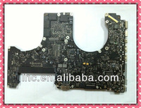 Free shipping for macbook pro a1286 price 820-2850-A laptop motherboard high quallity 100% test ok