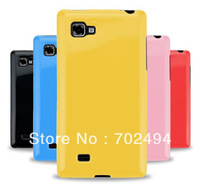500pcs/lotFor Optimus 4X HD Anti-skid design tpu case, High Quality TPU Gel Case For LG Optimus 4X HD P880 Via DHL Free Shipping