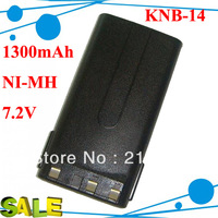 DHL freeshipping 5pcs/lot Rechargeable battery KNB-14 for Radios TK-2107 TK-3107