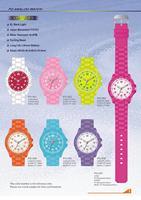 Model PO: Analog watch with EL light