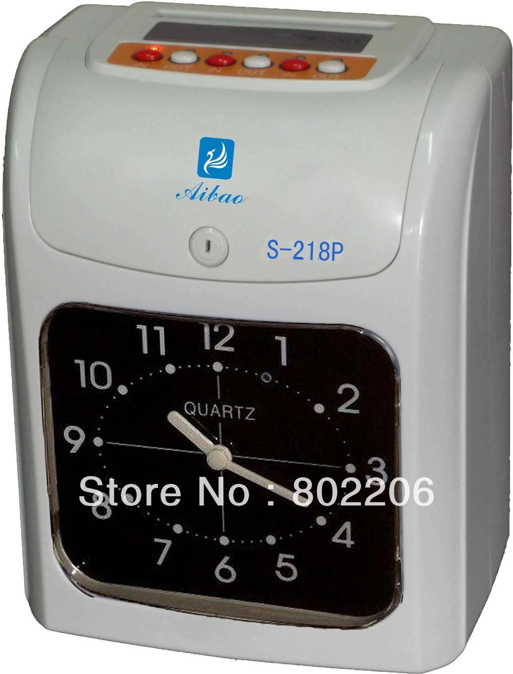 Time Recorder Aibao S-218(China (Mainland))