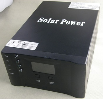 300w solar inverter with controller hybrid.inverter 300w,controller 10A,grid tie charger 10A,LCD display,intelligent control