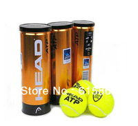 Free Shipping 3 PCS/A Barrel Origenal 100% Authentic Brand New ATP Gold Canning Pack Master Tennis Ball sports product Q882
