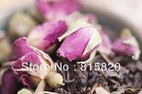 500g Rose  Puerh Tea, Ripe Puer tea with Rose flower,Ripe Pu'er Tea, Free Shipping