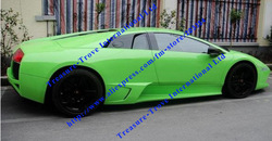 Free Shipping Apple Green Car Wrap Vinyl Film Auto Carbon Fiber Bubble Free Car Styling Installation Size: 1.52 m x 30 m gv60m(China (Mainland))