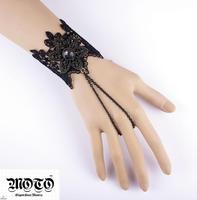 2013 New arrival VINTAGE bracelet set!free shipping Min Order$10+BEST SELL elegant wedding jewelry Punk handmade lace cuff MTB12