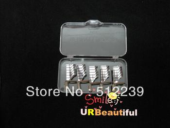 Free Shipping 5pcs/set Reusable Nail Forms UV Gel Acrylic French Nail Art Wholesale #NF05G