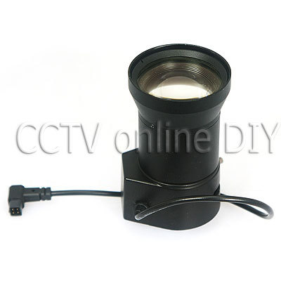 F1.8 Auto Aperture 1/3 inch CS Mount 5.0-100mm Auto IRIS Manual Varifocal Zoom CCTV Lens 55-3 Degree Angle for CCTV Camera(China (Mainland))