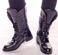 fashion knee-high fashion male boots