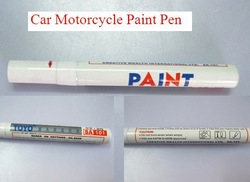 Free Shipping 3pcs Car Motorcycle Tyre Tire Tread Marker Paint Pen White(China (Mainland))