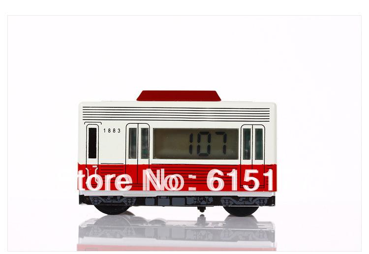 Free shipping Antique Style bus alarm clock driving&running alarm clock Never Fall Down 30PCS/Lot(China (Mainland))