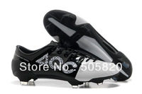 Free Shipping EMS, Best Newest White Black Men's Outdoor Soccer Shoes ACC G-S II FG Cleats Good Quality Cheap