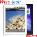 "Quad Core 2GB/16GB Onda V972 1.5GHz WIFI Android 4.1 9.7"" Retina IPS Capacitive Touch Screen  2048*1536 Tablet PC/blake"