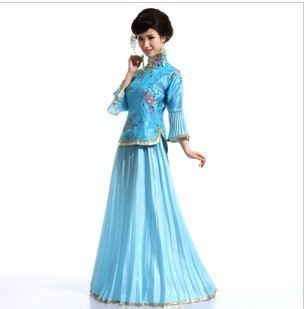 Costume female tang suit hanfu princess miss installed the wedding clothes miss loading(China (Mainland))