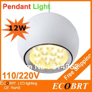 Ikea Abajur Free Shipping 12w Led Pendant Lights/novelty Style /energy Saving Big for Apple/white Finishing Warm White Lighting