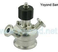 Stainless Steel Sanitary Valves Aseptic sample valve SS316L-NEW TYPE