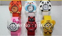 2013 New Style!Free Shipping Kids Cute Items Watch Christmas Gift Silicon Watch,Automatic Watches