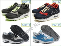 Hot!Free shipping,men&#39;s running shoes,max 87 brand shoes,air classic sneakers,wholesale sports shoes,can mix order,size 40-46!