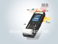 Mobile POS IP54 Rugged Handheld computer,Mobile Data Terminal,Industrial PDA,MSR,barcode,EMV Thermal printer,GPS/GPRS