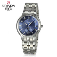 DHL Free shipping High quality Switzerland Nivada men's watch quartz pointer table 0802 - 6315 - 12 made in Switzerland