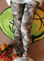 Free shipping High quality Sexy Camouflage Leggings