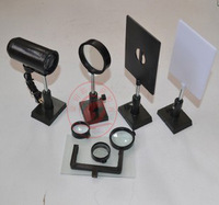 Convex lens  and concave lens imaging optical experiments, essential optical group