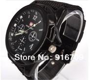 HOT sale Luxury New fashion TRENDY SPORT MILITARY STYLE WRIST WATCH for MEN SWISS ARMY Quartz watch  6colors