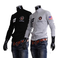 Free Shipping Hot Men's Jackets Male spring and autumn embroidery casual fashion sports outerwear