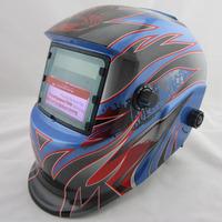 New Big view LI battery +Solar power  auto shading/darkening welding mask/helmet/filter with grinding function for the welder