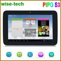 Pipo S3 7inch Tablet PC RK3066 Dual Core Android 4.1 1GB RAM 8GB ROM 1.6GHz Dual cameras WiFi Support HDMI OTG Output/ammy