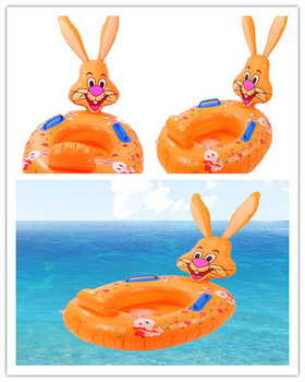 Lovely Cute rabbit baby water pool infant water pool inflatable swimming pool Free Shipping