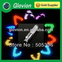 Bike Bicycle Motorcycle Tire Spoke Wheel Valve with 7 LED Light Lamp LED valve cap light  tyre lamp Freeshipping Dropshipping