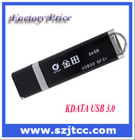 Free Shipping Factory Wholesale Guaranteed USB 3.0 Storage Full Capacity 64GB Mental USB 3.0 Flash Drive 64GB, 1pcs/lot