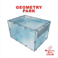 Acrylic  reptile box   Acrylic reptile terrarium 33cm*25cm*20cm