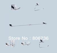 Luxury, bathroom product, Bathroom accessories, six Pcs bath hardware set ,CY-43000/6 brass  ,free shippping
