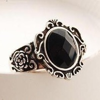 Min.order is $10 (mix order) 21B49 Fashion vintage arabesquitic magic mirror ring wholesale free shipping